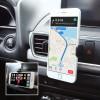 Kenu airbase pro soporte de móvil / telefonía para coche negro