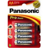 Panasonic blx4 lr6 aa pro pow pila alcalina