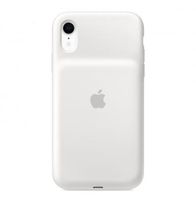 Apple iphone xr smart white funda batería