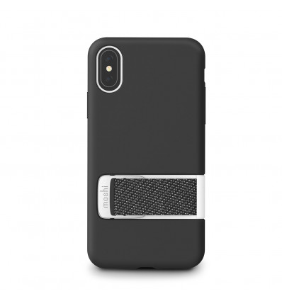 Moshi iphone xs capto negro funda