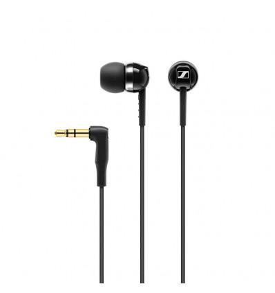 Sennheiser cx100 auriculares silicona color negro