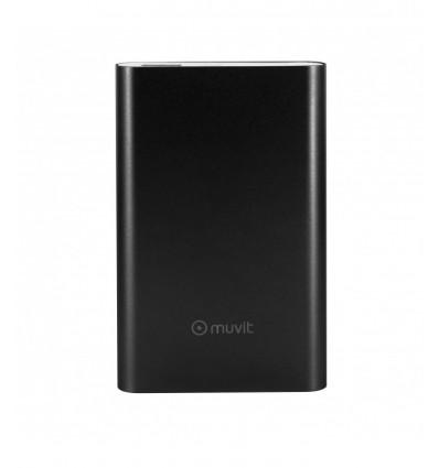MUVIT 10000MAH USB MICRO USB BK Powerbank