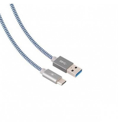 BLUESTORK TRENDY TIPO C GREY 1,2 M Cable