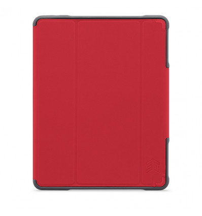 STM DUX PLUS IPAD (6TH GEN) 2018   RED Funda