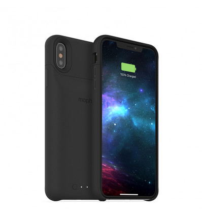Mophie juice pack funda de color negro con batería integrada para iphone xs max
