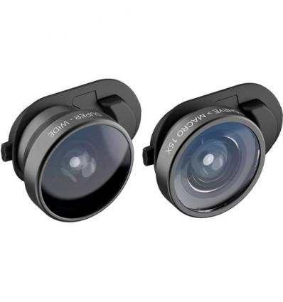 Olloclip xr fisheye + macro & super wide  lente