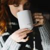 Ember ceramic mug white taza inteligente