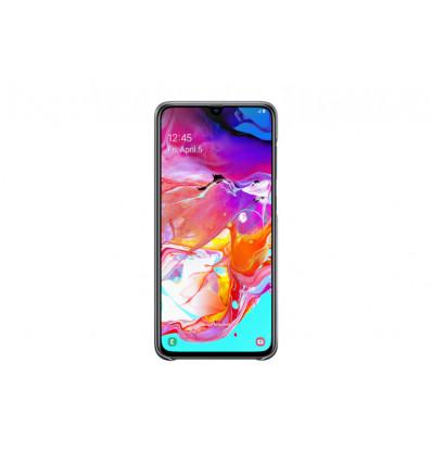 Samsung a70 (2019) gradation cover   black funda
