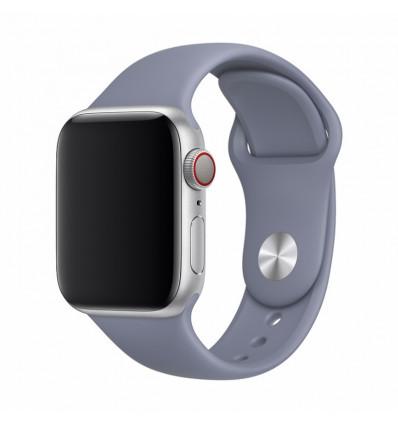 Devia correa apple watch 38-40mm sport gris lavanda