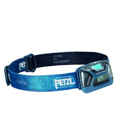 Petzl tikkina 150lm azul linterna frontal
