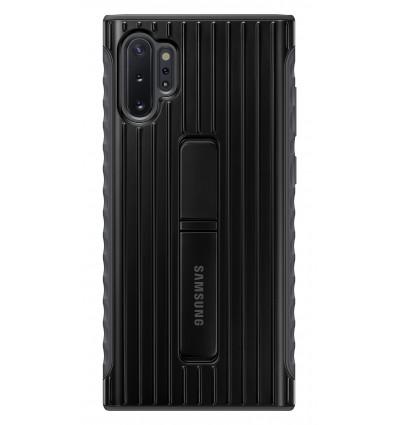 Samsung funda negra con soporte para galaxy note 10+