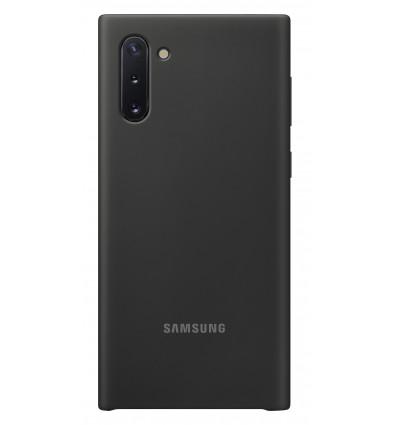 Samsung note 10 silicone cover   black funda