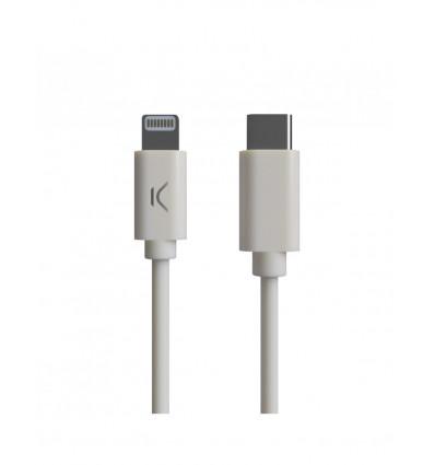 Ksix cable usb-c a lightning 1m