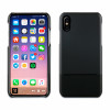 Muvit iphone x doble skin pu bk funda