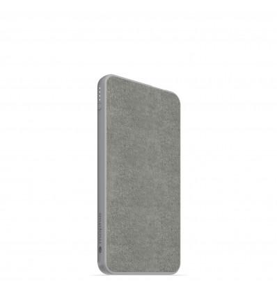 Mophie powerbank  batería externa 5000 mah gris con salida usb