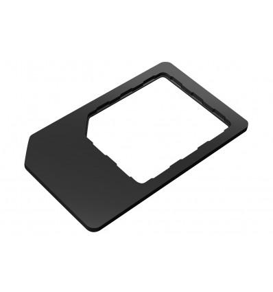 Muvit nanosim/microsim pack 3unid adaptador sim