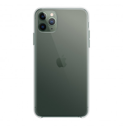 Apple funda de silicona  clear / transparente para iphone 11 pro max