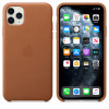 Apple funda de piel color marrón para iphone 11 pro max