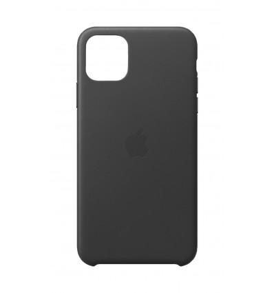 Apple funda de piel color negro para iphone 11 pro max