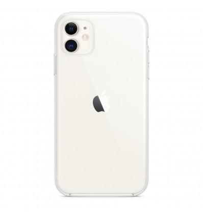 Apple funda de silicona clear / transparente para iphone 11