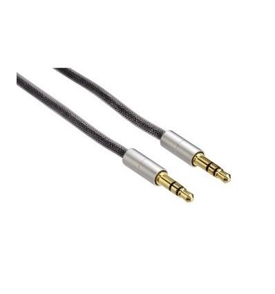 Hama cable conexión jack stereo 3.5 mm