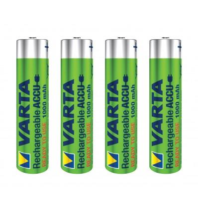 Varta blx4 aaa ready to use 1000mah pila alcalina