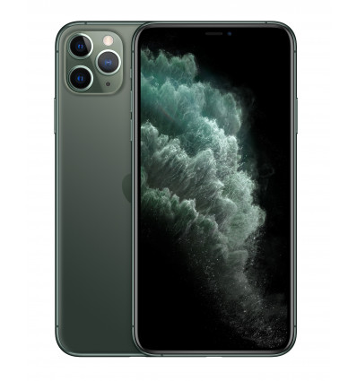 Apple iphone 11 pro max 64gb color verde oscuro