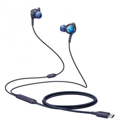 Samsung anc auriculares usb-c (negro/azul)