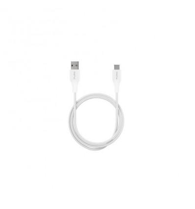 Puro cable usb-c a usb 1m (blanco)