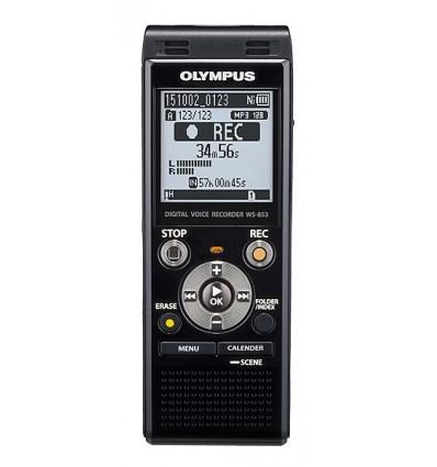 Olympus ws-853 8gb (gris) grabadora digital