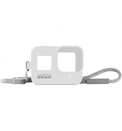 Gopro sleeve + lanyard white accesorio vídeo
