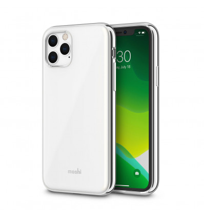Moshi iglaze funda para iphone 11 pro (blanco)