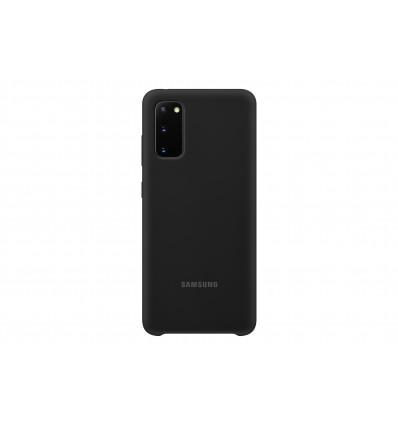 Samsung s20 silicone cover black funda