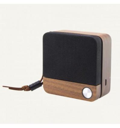 Ksix eco speak altavoz de madera bluetooth