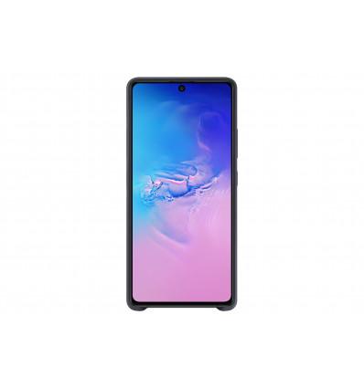 Samsung s10 lite silicone cover   black funda