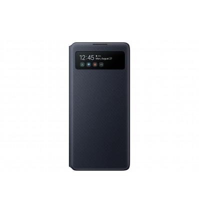 Samsung s10 lite s view wallet cover   black funda