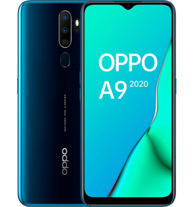 Oppo a9 smartphone 4+128gb color azul