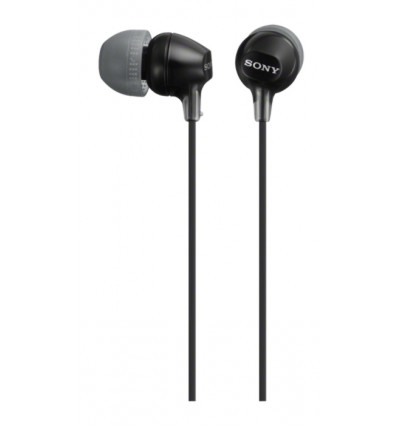 Sony mdr ex15ap black auriculares