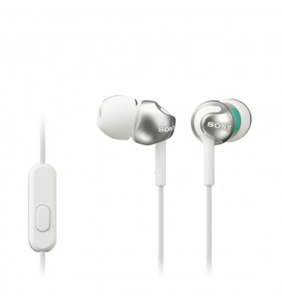 Sony mdr ex110ap white auriculares