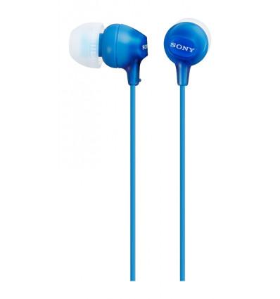 Sony mdr ex15ap blue auriculares