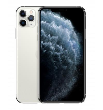 Apple iphone 11 pro max 64 silver smartphone