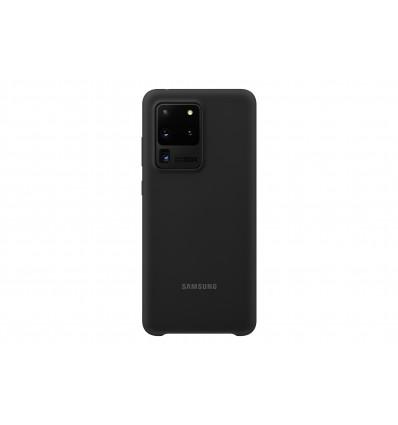 Samsung s20 ultra silicone cover   black funda