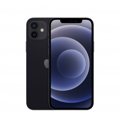 Apple iphone 12 128gb  black smartphone