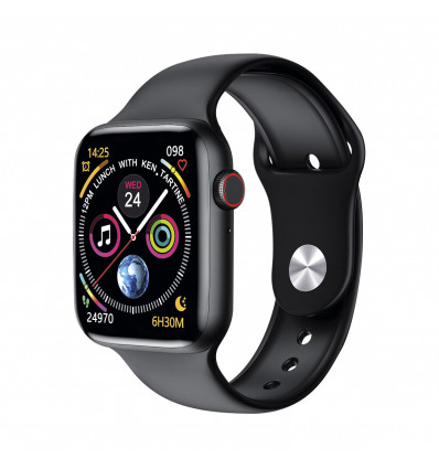 Ksix urban 2   black smartwatch