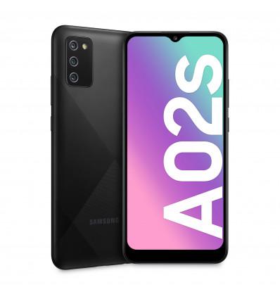 Samsung a02s 3 32 black smartphone