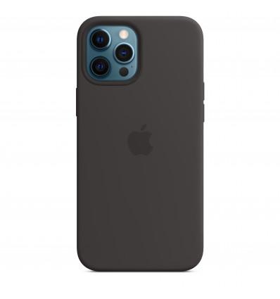 Apple iphone 12 pro max silicone magsafe black fun