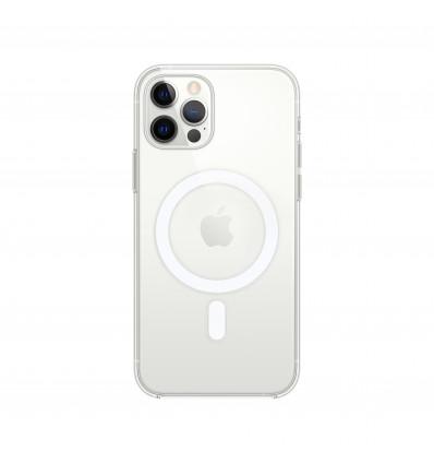 Apple iphone 12/12 pro clear magsafe magsafe funda