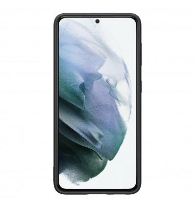 Samsung s21 silicone cover   black funda