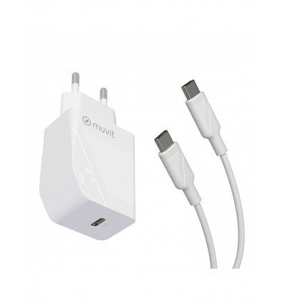 Muvit for change tipo c pd 20w + cable tipo c   ca