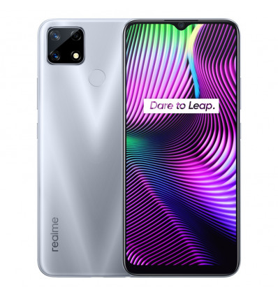 Realme 7i 4 64 silver smartphone